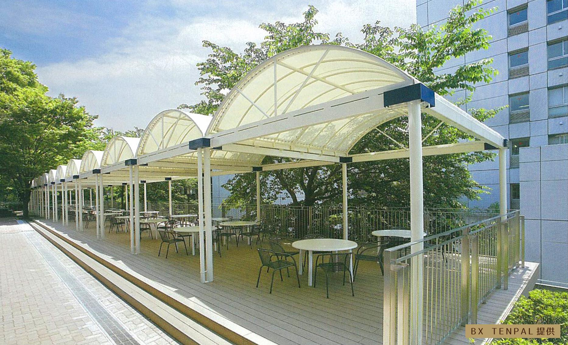 快適空間テント(過ごしやすい空間)