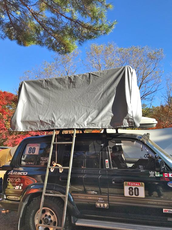 車載テント用カバーシート(フライシート・ウィンターフード)