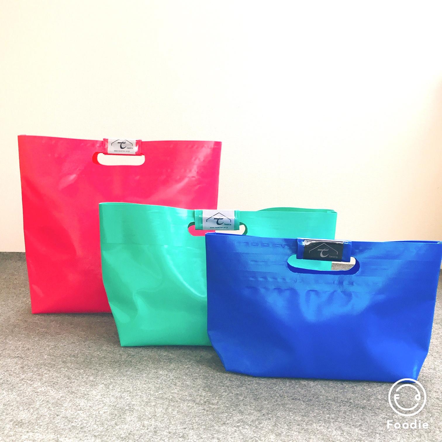 テント生地のバッグ「tentoBAG」