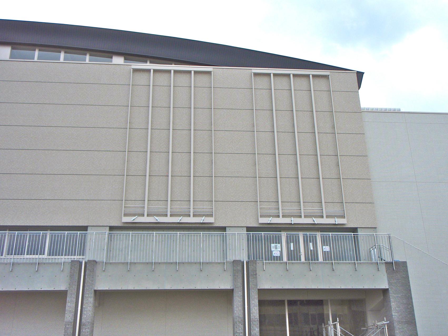 懸垂幕装置 設置